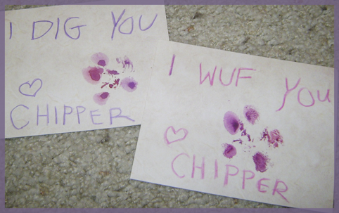 Chipper wuvs you